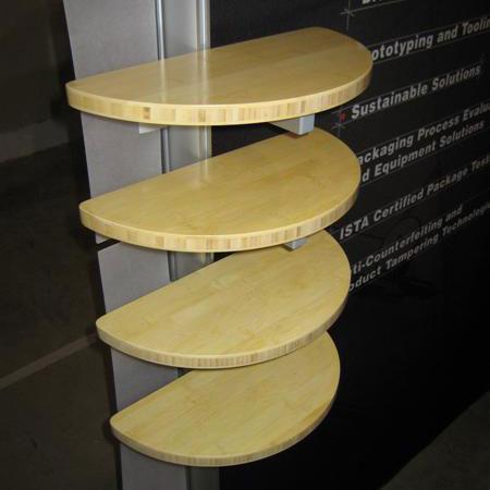 Display Search Half Round Shelf Ecosmart Accessories