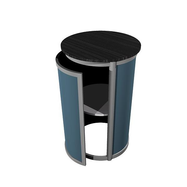 ECO-25C Sustainable Pedestal - View 1