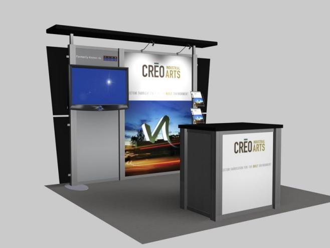 Exhibition Booth Accessories : Display search reo creo arts rental inline
