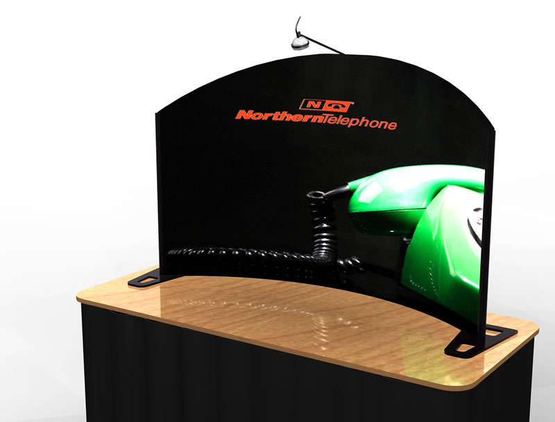 Charmant ... TF 406 Aero Tradeshow Tabletop Display    Image 1 ...