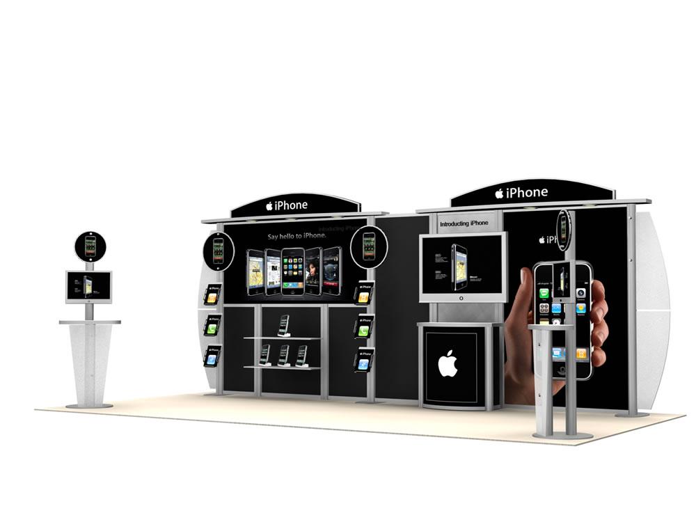 Exhibition Booth Header : Display search vk hybrid booth modern inline